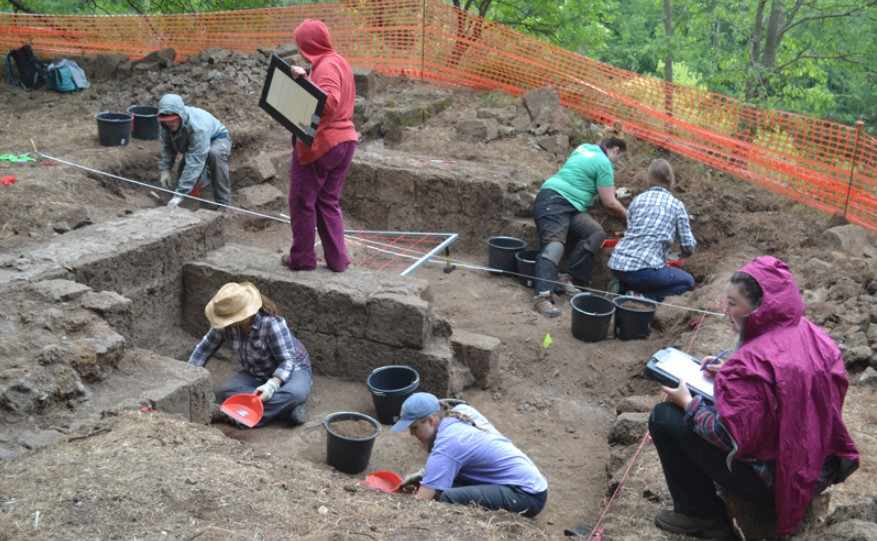 Sites for archaeological projects