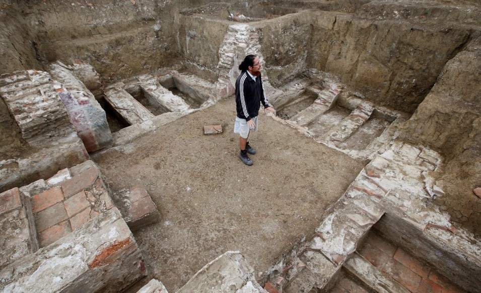 archaeological activity